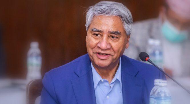 प्रधानमन्त्री शेरबहादुर देउवा आज प्रदेश १ का बाढी प्रभावित क्षेत्रको अवलोकनमा