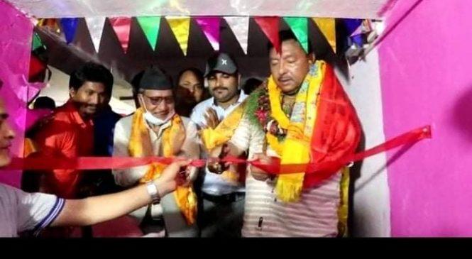 पूर्वमन्त्री गिरीद्वारा तुलसीपुर डान्स स्कुलको उदघाटन