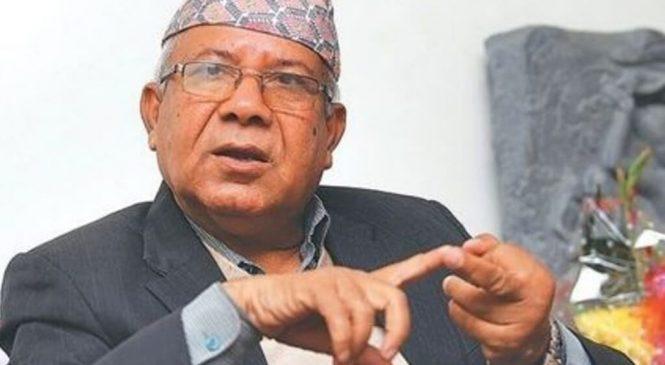 एमाले नेता नेपाल पक्षको केन्द्रीय कमिटी बैठक भोलिका लागि आह्वान