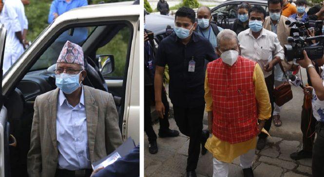 नेपाल र ठाकुर पक्ष दल सनाखतका लागि निर्वाचन आयोगमा