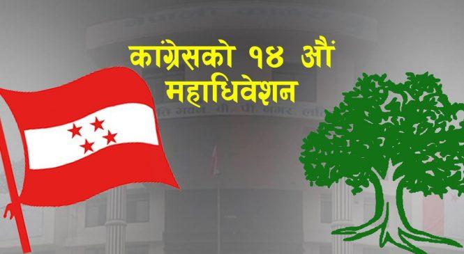 कांग्रेस महाधिवेशन : १६५ निर्वाचन क्षेत्रबाट ४१२५ प्रतिनिधि चयन हुने (सूचीसहित)