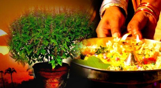 कार्तिक स्नान, तुलसीको विशेष पूजा, आकाशदीप दान शुरु